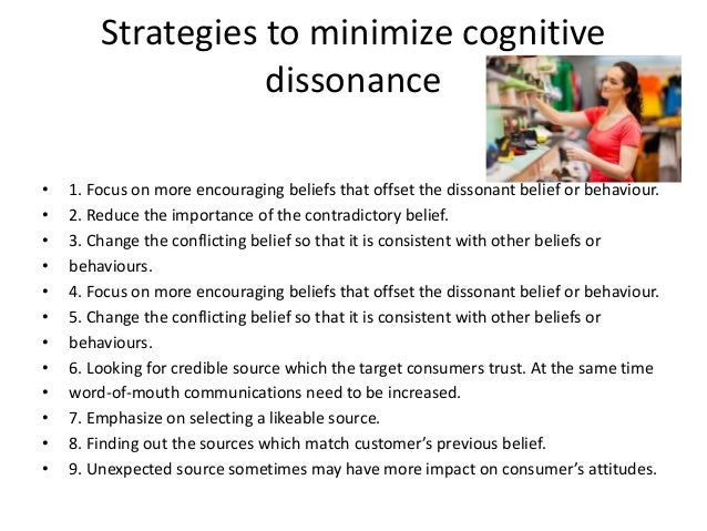 cognitive dissonance in consumer behaviour ppt
